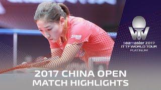 【Video】LIU Shiwen VS SUN Yingsha, bán kết 2017 Seamaster 2017 Platinum, China Open