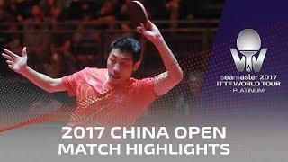【Video】XU Xin VS LEBESSON Emmanuel, vòng 32 2017 Seamaster 2017 Platinum, China Open