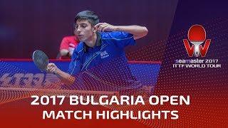【Video】MIZUKI Oikawa VS TODOROV Stefan, vòng 32 2017 Seamaster 2017  Asarel Bulgaria Mở