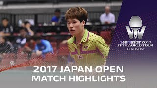 【Video】KAZUHIRO Yoshimura VS JANG Woojin, vòng 64 2017 Seamaster 2017 Platinum, LION Japan Open