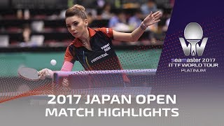 【Video】SZOCS Bernadette VS VINOGRADOVA Mariia, vòng 64 2017 Seamaster 2017 Platinum, LION Japan Open