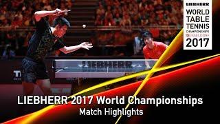 【Video】MA Long VS FAN Zhendong, chung kết LIEBHERR 2017 Giải vô địch Bóng bàn Thế giới