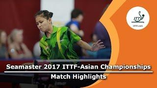 【Video】WuYang VS OKTARIYANI Novita, vòng 64 2017 Giải vô địch ITTF Á