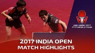 【Video】MASATAKA Morizono・YUYA Oshima VS ACHANTA Sharath Kamal・SHETTY Sanil, tứ kết 2017 Seamaster 2017 Ấn Độ mở rộng