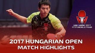 【Video】ZHOU Yu VS SHANG Kun, vòng 16 2017 Seamaster 2017 Hungary mở