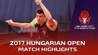 【Video】ZHOU Yu VS PITCHFORD Liam, vòng 32 2017 Seamaster 2017 Hungary mở