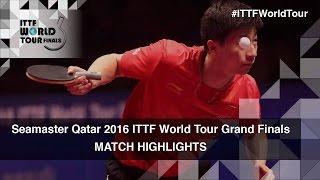 【Video】MA Long VS FAN Zhendong, chung kết 2016 Seamaster 2016 Grand Finals
