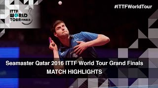 【Video】OVTCHAROV Dimitrij VS FAN Zhendong, tứ kết 2016 Seamaster 2016 Grand Finals