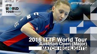 【Video】MIMA Ito VS POLCANOVA Sofia, tứ kết 2016 Hybiome Austrian Open