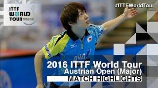 【Video】KOKI Niwa VS KENTA Matsudaira, vòng 16 2016 Hybiome Austrian Open
