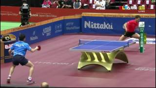 【Video】XU Xin VS WONG Chun Ting, tứ kết 2016 Laox Japan Open