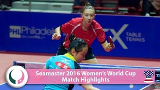 【Video】MIMA Ito VS POLCANOVA Sofia, vòng 16 World Cup 2016 Seamaster nữ