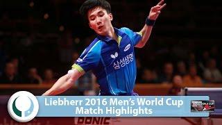 【Video】LEE Sangsu VS KARLSSON Kristian World Cup của LIEBHERR 2016 Men