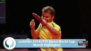【Video】GERELL Par VS ARUNA Quadri World Cup của LIEBHERR 2016 Men
