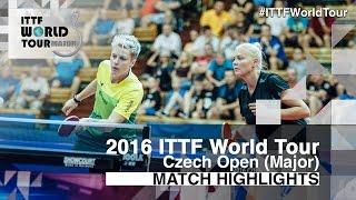 【Video】DOLGIKH Maria・MIKHAILOVA Polina VS EKHOLM Matilda・POTA Georgina, chung kết 2016 Czech mở