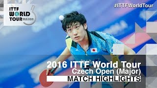 【Video】YUTO Muramatsu VS CHO Seungmin, bán kết 2016 Czech mở