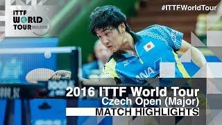 【Video】AKKUZU Can VS YUTO Muramatsu, bán kết 2016 Czech mở