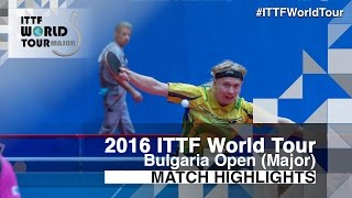 【Video】NIELSEN Claus VS MIZUKI Oikawa, tứ kết 2016 - Asarel Bulgaria Open