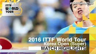 【Video】JOO Saehyuk VS MIZUKI Oikawa, vòng 32 2016 Hàn Quốc mở rộng