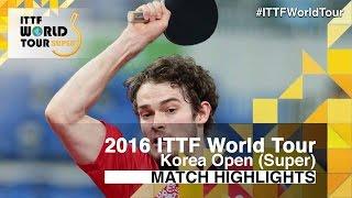 【Video】WALKER Samuel VS MIZUKI Oikawa, bán kết 2016 Hàn Quốc mở rộng