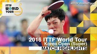 【Video】TSUBOI Gustavo VS AN Jaehyun, vòng 64 2016 Hàn Quốc mở rộng