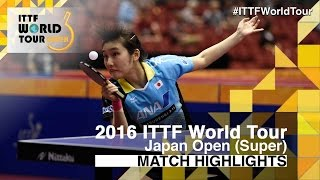 【Video】MIYU Kato VS ZENG Jian, bán kết 2016 Laox Japan Open