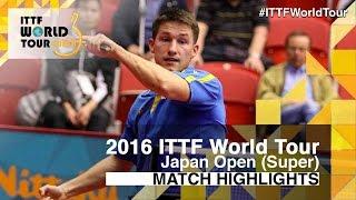 【Video】KARLSSON Kristian VS LIN Gaoyuan, vòng 32 2016 Laox Japan Open