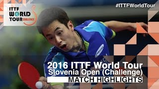 【Video】JOO Saehyuk VS MONTEIRO Thiago, vòng 32 2016 Slovenia Open