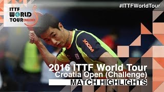 【Video】JOO Saehyuk VS JEOUNG Youngsik, chung kết 2016 Zagreb  mở rộng