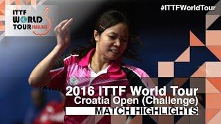 【Video】LIN Chia-Hsuan VS AI Fukuhara, vòng 64 2016 Zagreb  mở rộng