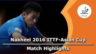 【Video】WONG Chun Ting VS GaoNing, tranh hạng 3 2016 ITTF Nakheel Asian Cup