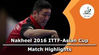 【Video】GaoNing VS XU Xin, bán kết 2016 ITTF Nakheel Asian Cup