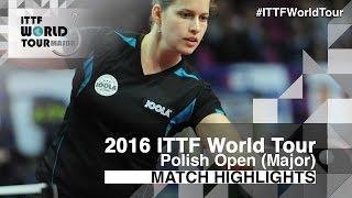 【Video】SOLJA Petrissa VS KOMWONG Nanthana, vòng 32 2016 Ba Lan mở rộng