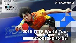 【Video】KENTA Tazoe VS KOHEI Sambe, tứ kết 2016 Ba Lan mở rộng
