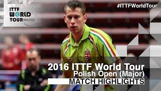 【Video】KOSIBA Daniel VS AKKUZU Can, vòng 16 2016 Ba Lan mở rộng