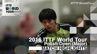 【Video】SZYMANSKI Filip VS KOHEI Sambe 2016 Ba Lan mở rộng