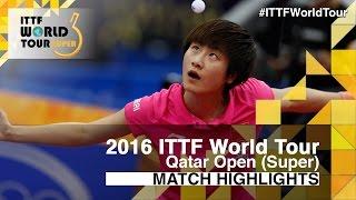 【Video】HAN Ying VS DING Ning, tứ kết 2016 Qatar mở rộng