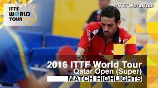 【Video】FREITAS Marcos VS KARLSSON Mattias, vòng 32 2016 Qatar mở rộng