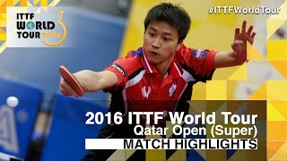 【Video】Chiang Hung-Chieh VS LI Hu, vòng 32 2016 Qatar mở rộng