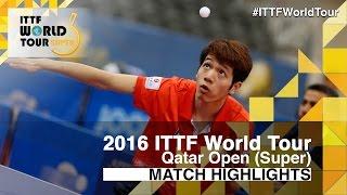 【Video】SUN Chia-Hung VS HO Kwan Kit, vòng 64 2016 Qatar mở rộng