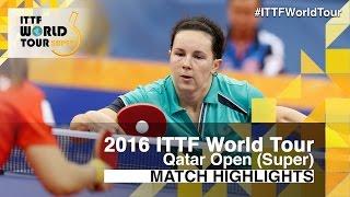【Video】PROKHOROVA Yulia VS LEE Ho Ching, vòng 64 2016 Qatar mở rộng