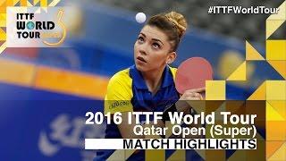 【Video】SZOCS Bernadette VS FARAMARZI Maha, vòng 64 2016 Qatar mở rộng