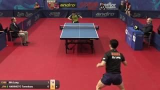 【Video】MA Long VS TOMOKAZU Harimoto, vòng 64 GAC Nhóm 2015  Ba Lan mở