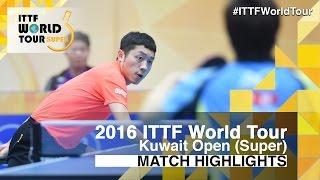 【Video】JUN Mizutani VS XU Xin, tứ kết 2016 Kuwait mở rộng