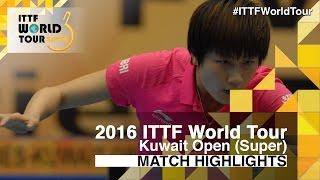 【Video】HAN Ying VS DING Ning, tứ kết 2016 Kuwait mở rộng