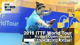 【Video】LIU Shiwen VS LI Xiaoxia, tứ kết 2016 Kuwait mở rộng