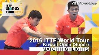 【Video】XU Xin・ZHANG Jike VS FAN Zhendong・MA Long, bán kết 2016 Kuwait mở rộng