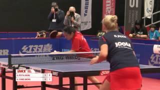 【Video】YANG Xiaoxin VS POTA Georgina, chung kết 2016 Thụy Sĩ mở