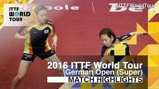 【Video】JEON Jihee・YANG Haeun VS HAN Ying・IVANCAN Irene, chung kết 2016 Đức mở rộng