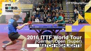 【Video】ASSAR Omar VS OVTCHAROV Dimitrij, vòng 32 2016 Đức mở rộng